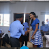Queen Chizoba Ejike, Miss Intercontinental Africa Speaks At the Police Induction Ceremony.