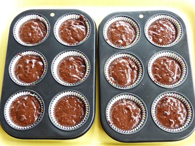 Elaboración Muffins de chocolate