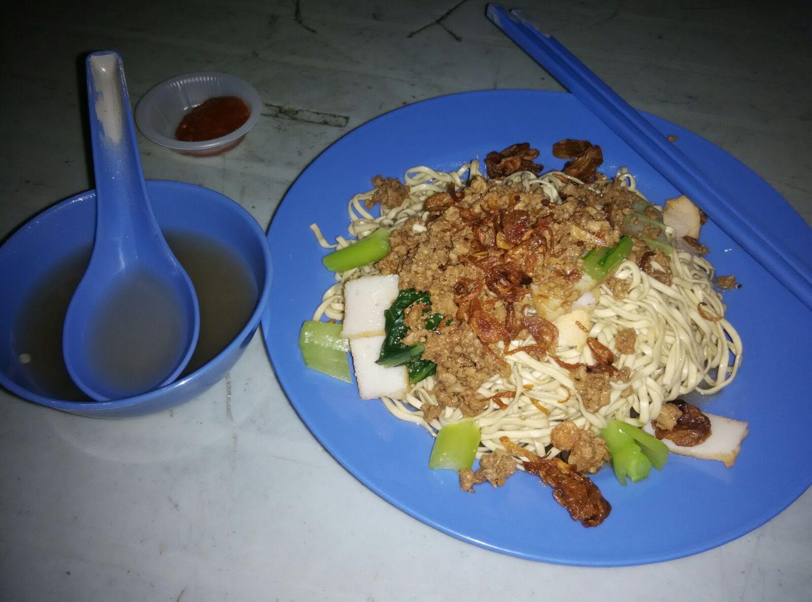It 39 s about food ah wen sarawak kampua mee for X cuisine miri
