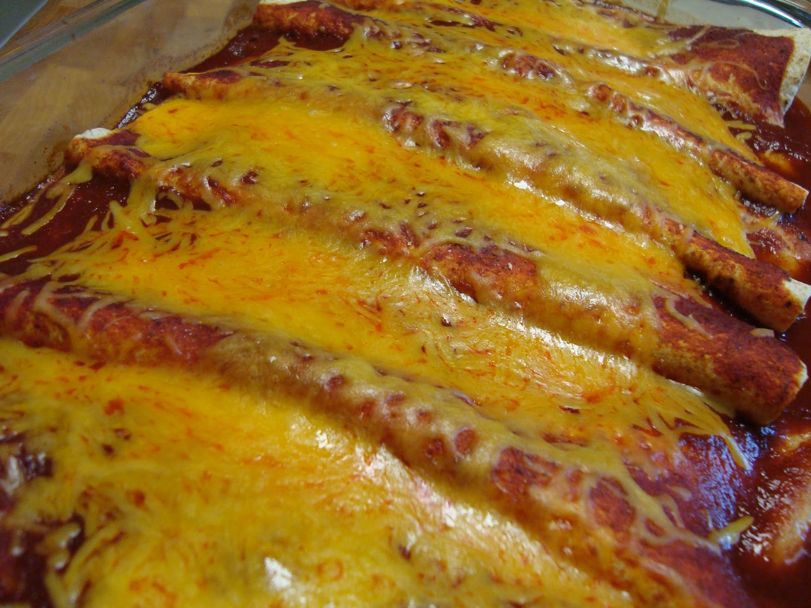 The Cookbook Project: Turkey and Black Bean Enchiladas
