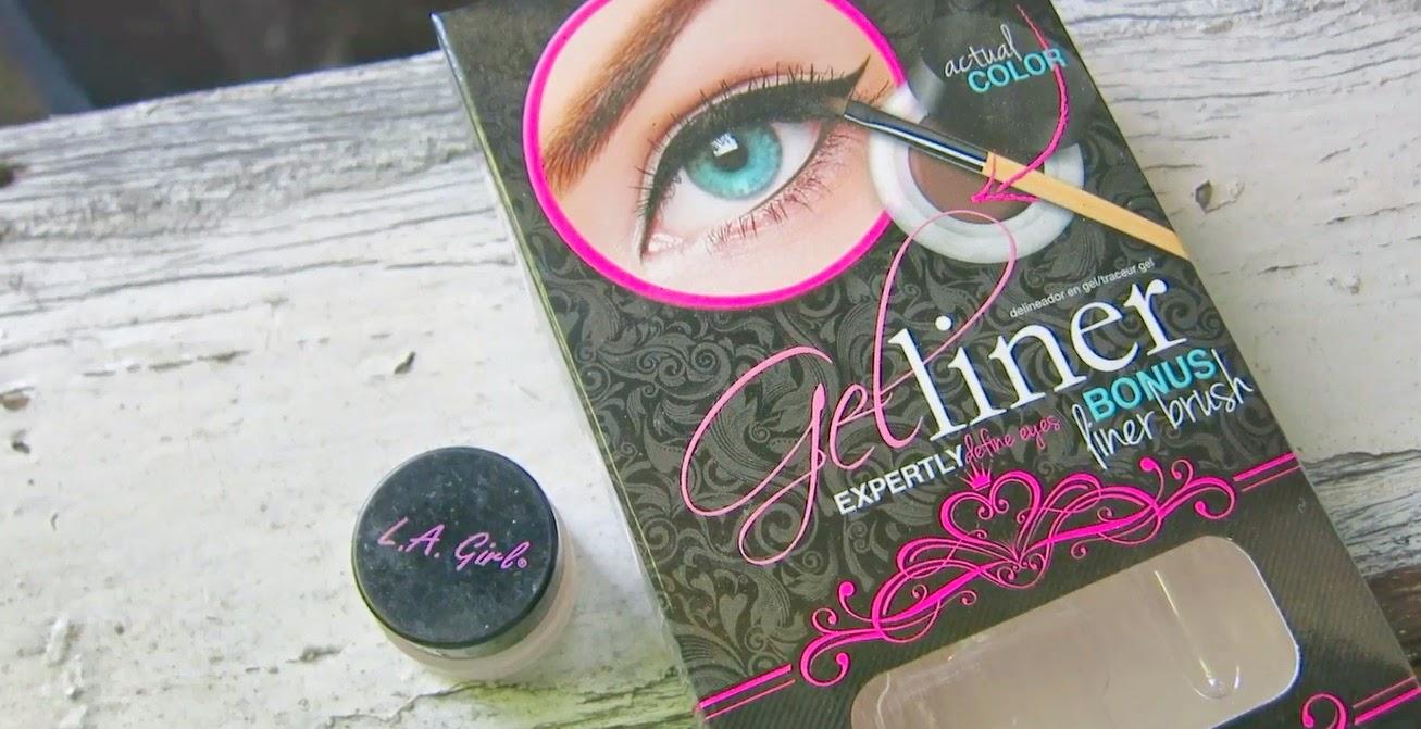 Mineeh11 Eyebrow Tutorial Using La Girl Gel Liner