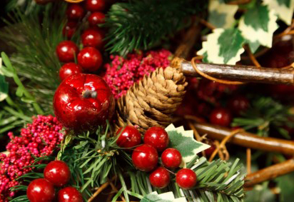 artificial christmas decoration