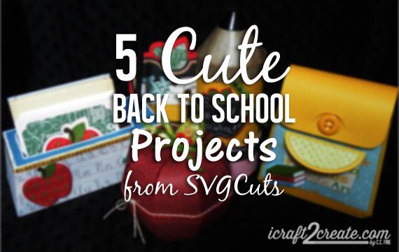 Back to School, SVGCuts.com, Fall, Autumn, DIY, papercrafts,school