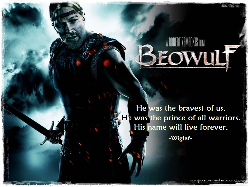 beowulf good vs evil quotes
