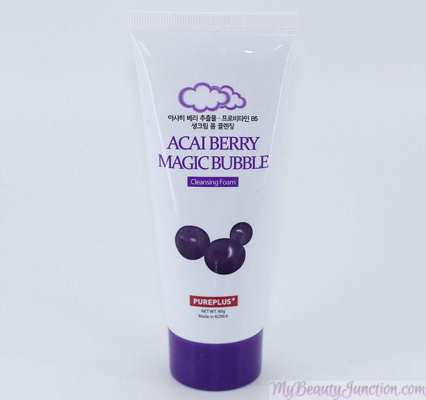Pureplus+ Acai Berry Magic Bubble Cleansing Foam 80ml