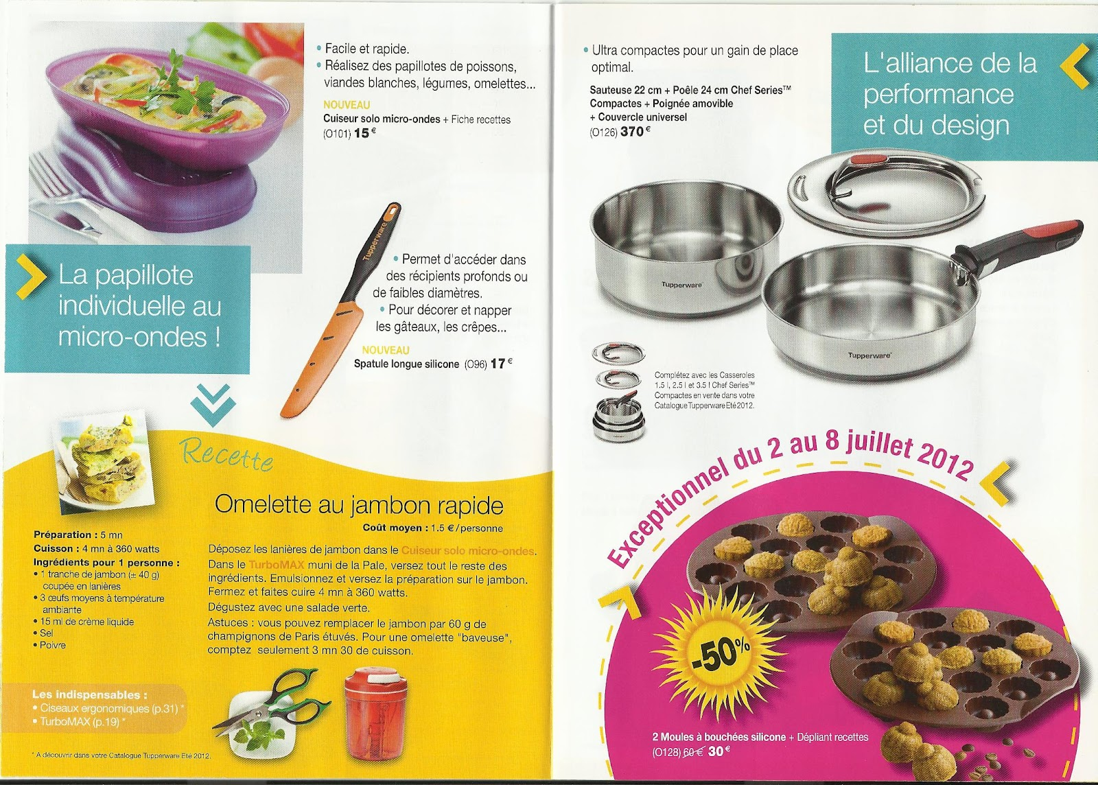 Berühmt Amélie, Gourmandises & Tupperware: juin 2012 YL76