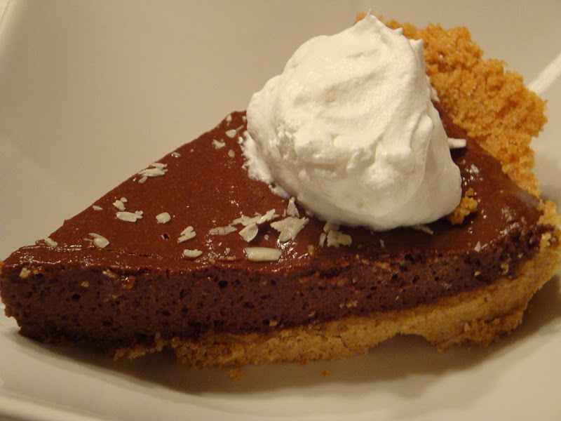 Living through Life (with interruptions): Chocolate Chiffon Pie