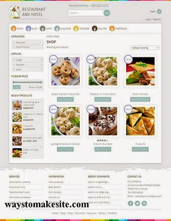Build Restaurant website