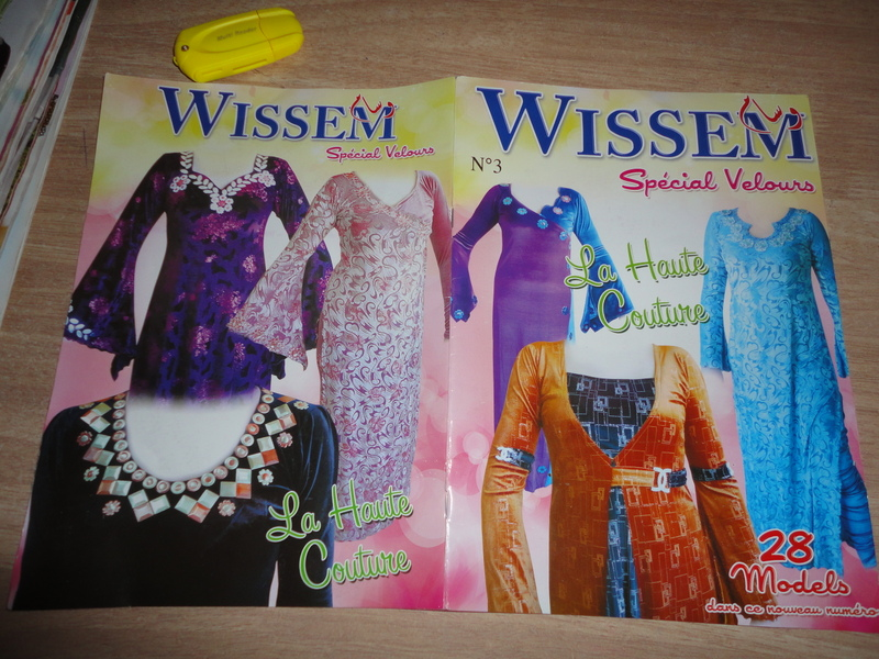 dresses inside the Algerian magazine wissem