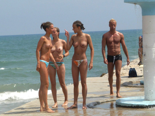 Teen friends on nude beach sorry