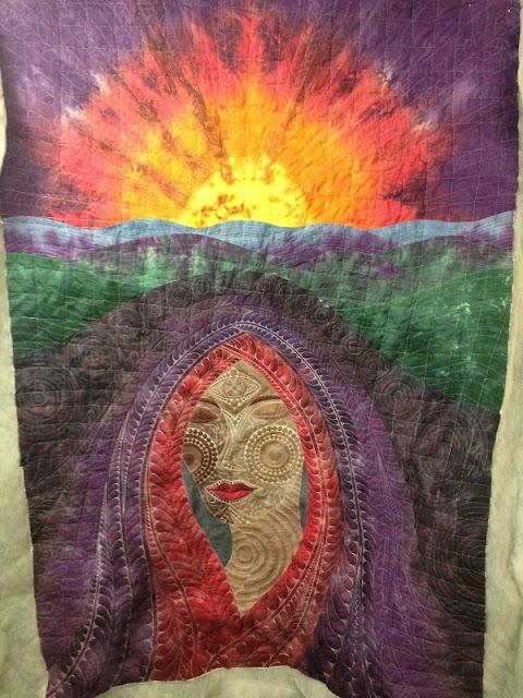 dream goddess quilt | Leah Day