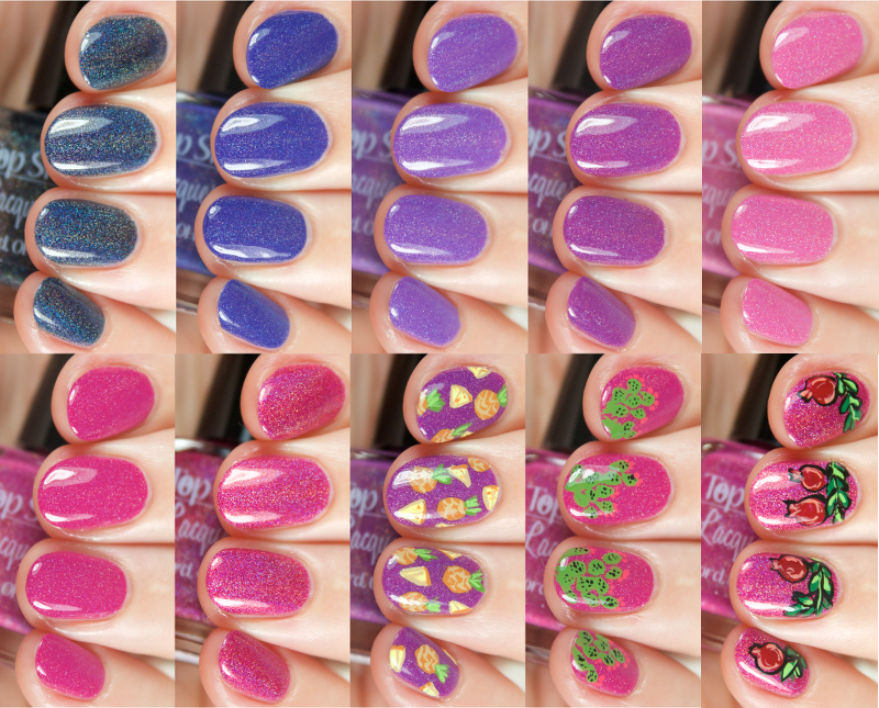 Wondrously Polished: Top Shelf Lacquer - Margarita Time: Swatches ...