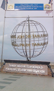 Tanjung Piai Southern Most Tip of Mainland Asia