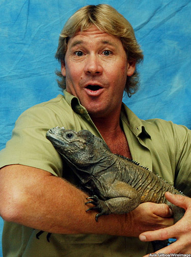 Carroll Bryant: Steve Irwin (Influences) - 59.5KB