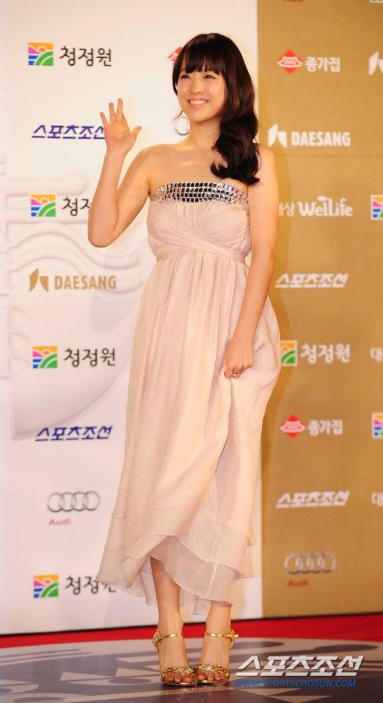 Park Bo Young (박보영) - 31st Blue Dragon Film Awards on 26 November 2010