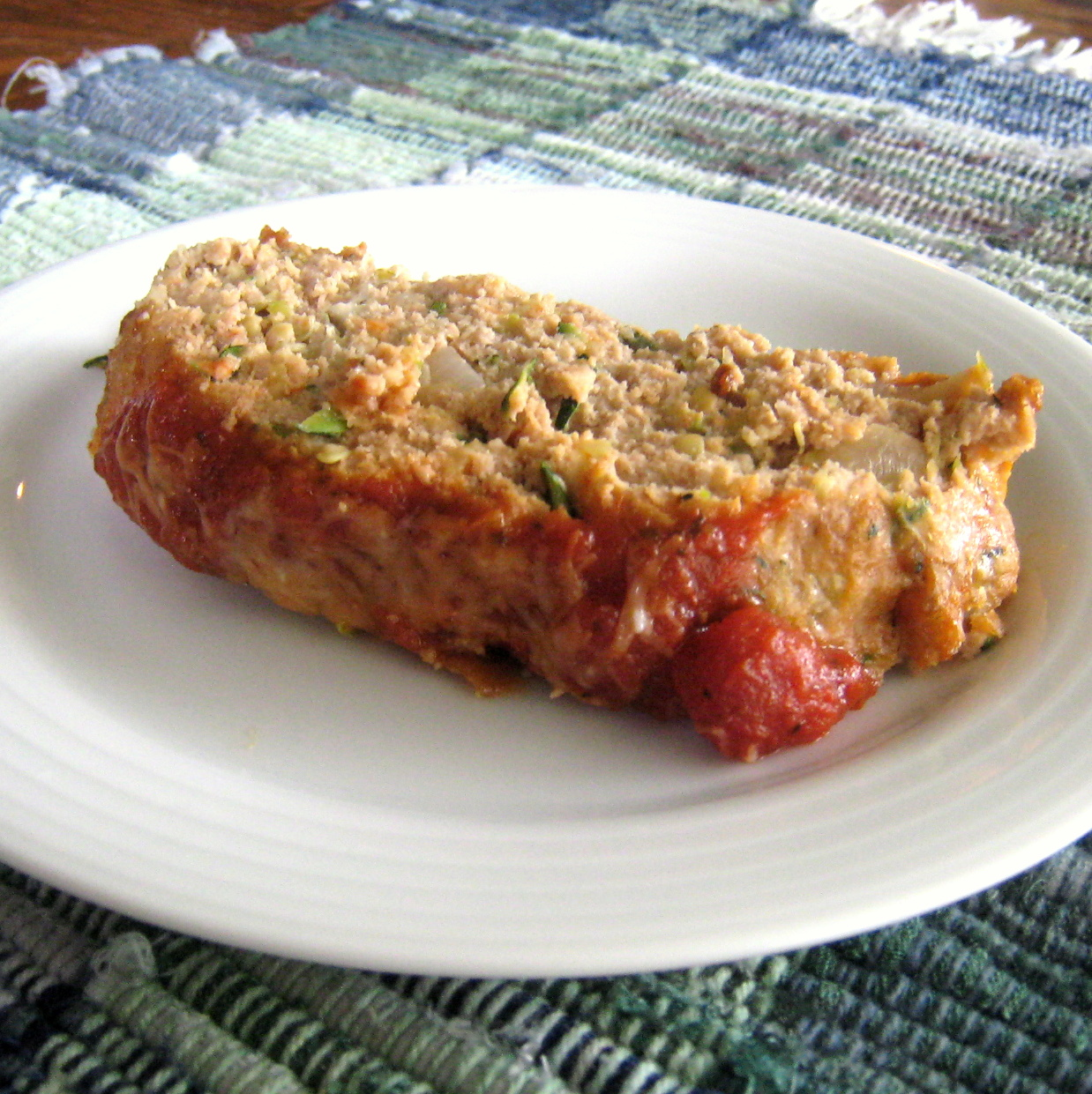 Common Sense Cooking: Zucchini, Part II- Italian Turkey Meatloaf