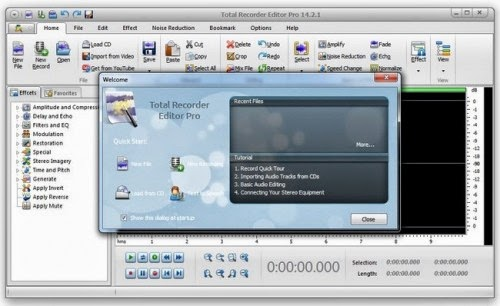 Total Recorder Editor Pro 14.2.1 With Key Free Download
