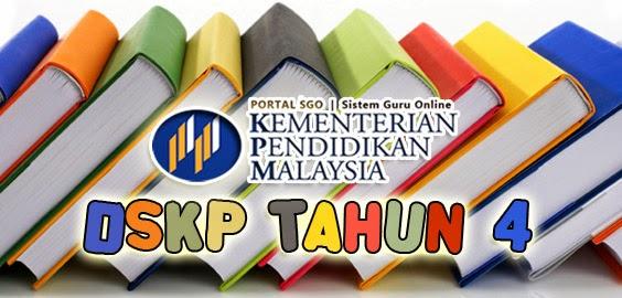 DSKP Tahun 4 Bahasa Melayu KSSR