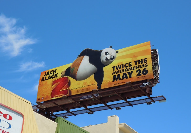 Kung Fu Panda 2 awesome billboard
