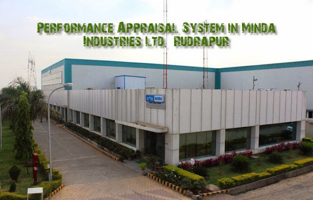 Performance Appraisal System in Minda Industries Ltd. Rudrapur