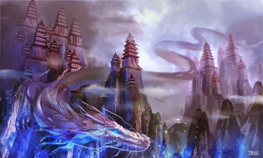 a spirit dragon