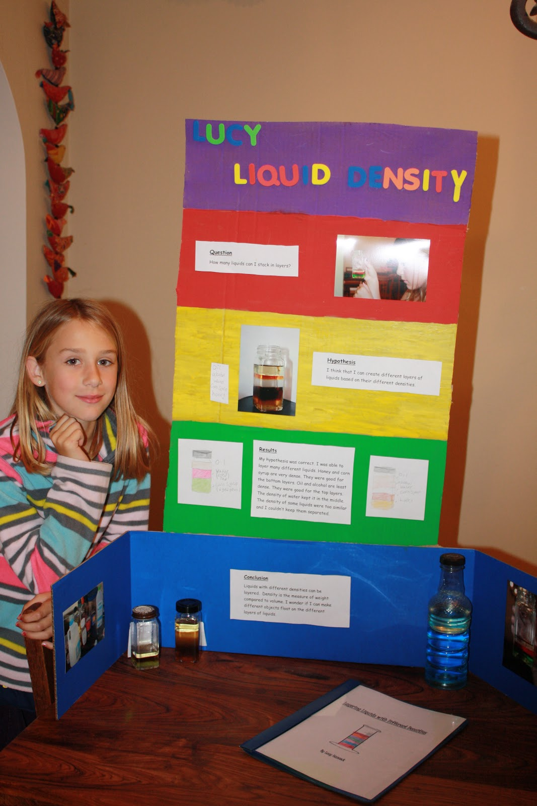 density science fair projects An object's density is determined by comparing its mass to its volume  these  experiments can make a good science fair project use them as a foundation and .