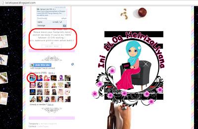 hadiah dari blogger, topup free follower bertuah