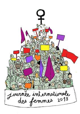 Journée internationale des femmes 2013 à Lille