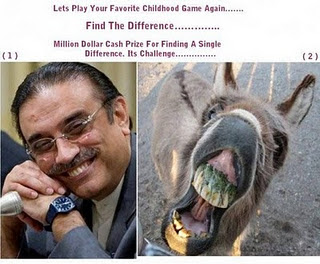Asif Zardari Funny Pictures, Jokes and Zardari Funny Quotes