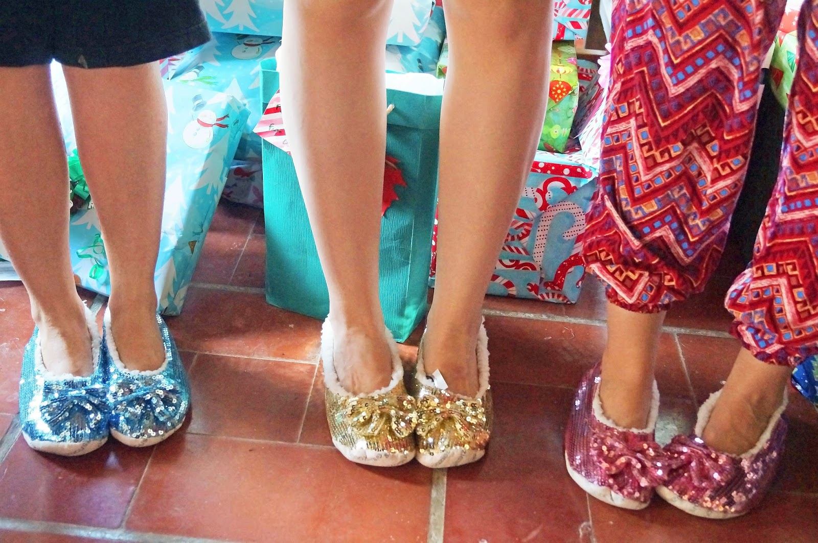Jazz up your style at home with these cute and comfy sequin slippers!