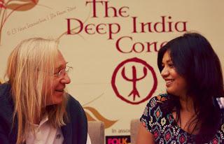 Eric Mouquet and Parmita Borah at Deep India Concert - Jim Ankan Deka photography