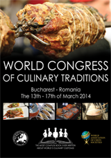 World Congress of Culinary Traditions - Bucharest 2014