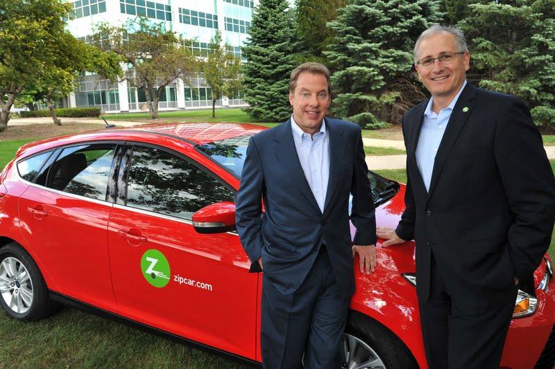 Ford et zipcar partenaires autos am ricaines blog