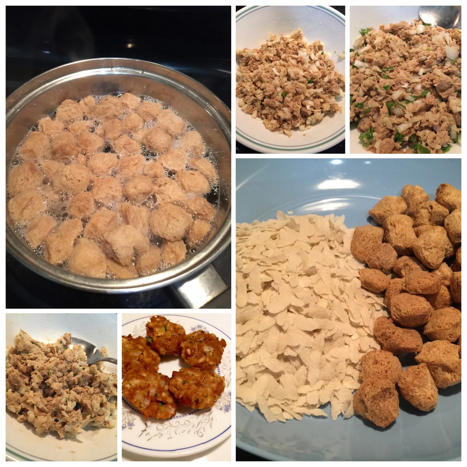 sarita's kitchen blog soya chunks poha vada