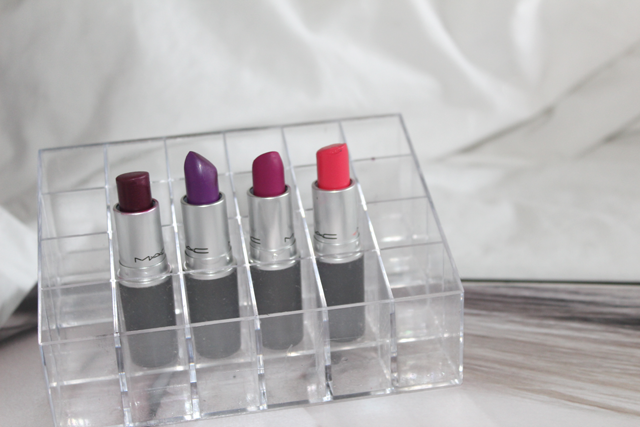 mac pink lipstick collection blog