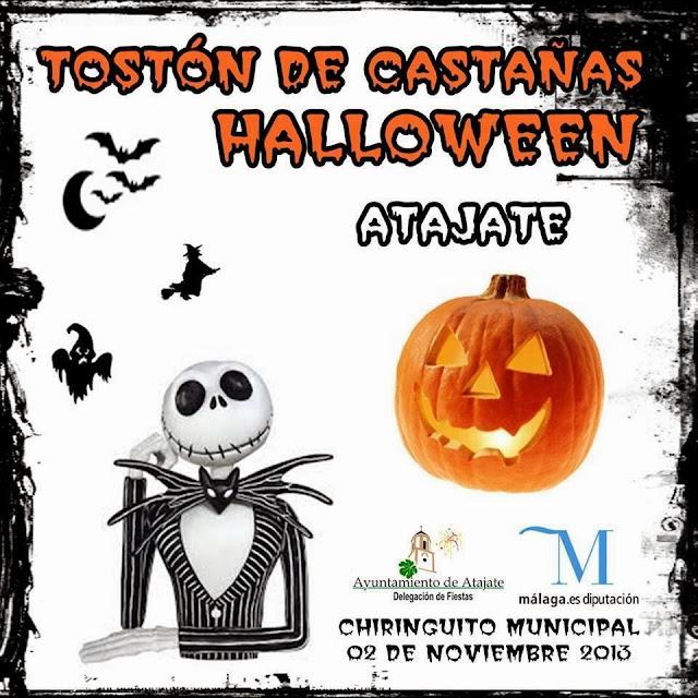 Tostón de Castañas Halloween en Atajate