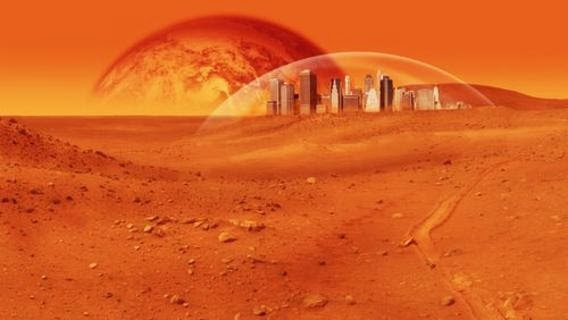 man on planet mars - photo #17