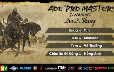 Pro Masters 2015, Điểm mặt các cặp đấu đặc cách vào thẳng vòng tứ kết  2vs2 Shang tự do