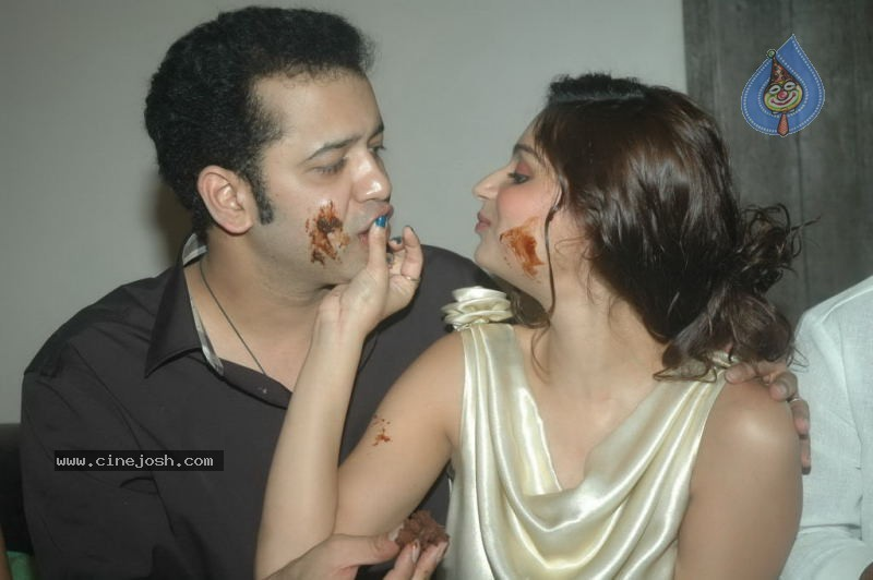  Rahul and Dimpy Mahajan B-day Party Pics