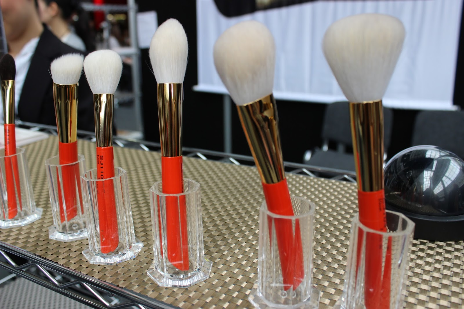 IMATS london 2014 hakuhodo makeup brushes