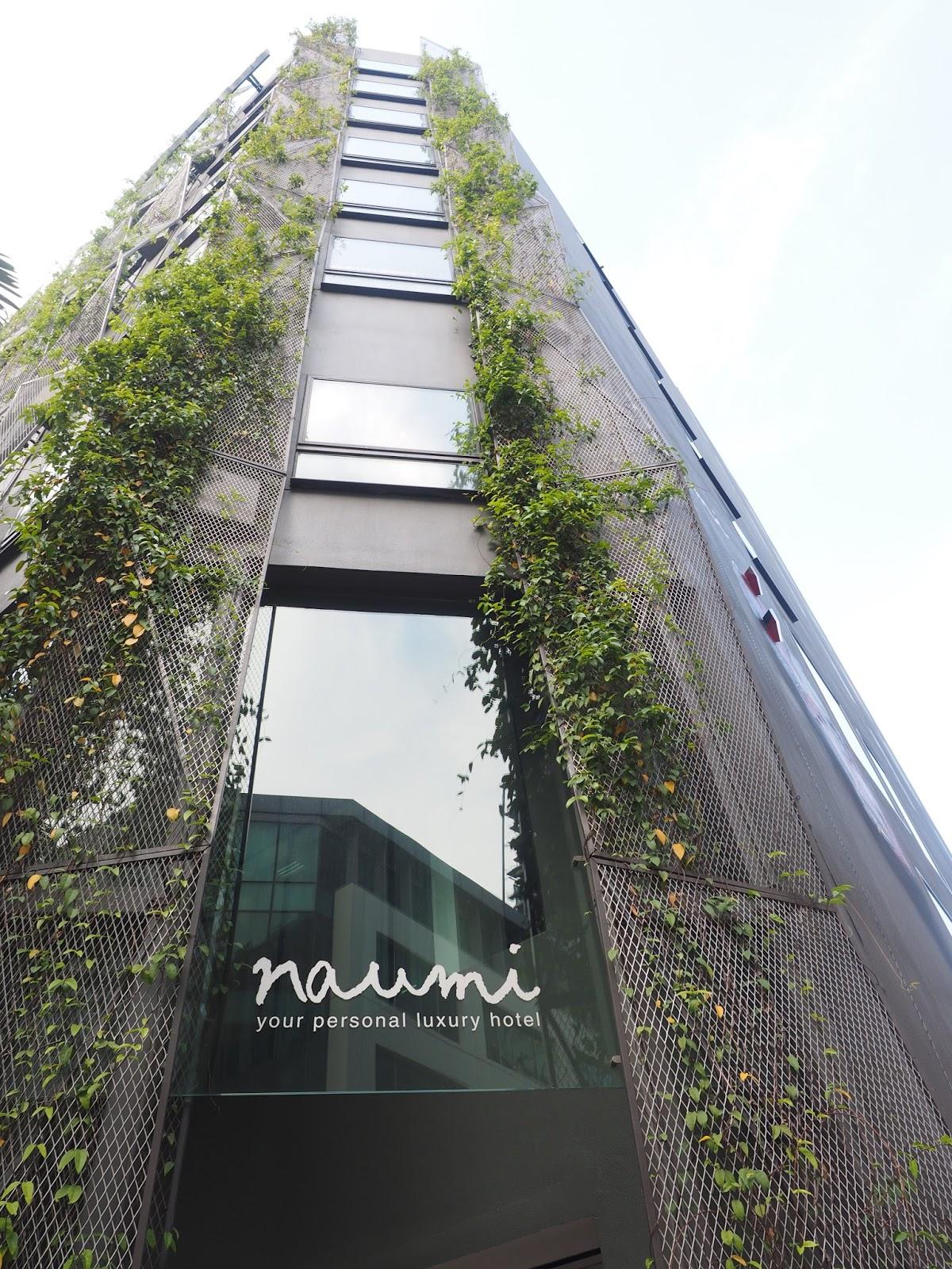 naumi hotel boutique outside singapore