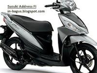Harga Suzuki Address dan Spesifikasi Detail Motor Terbaru