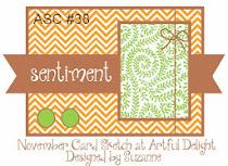 NOVEMBER CARD SKETCH ASC #38