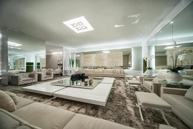 Sala De Estar Mais Bonita Do Mundo ~ Decorar com luxo, não é mais apenas ter bom gosto e dinheiro claro