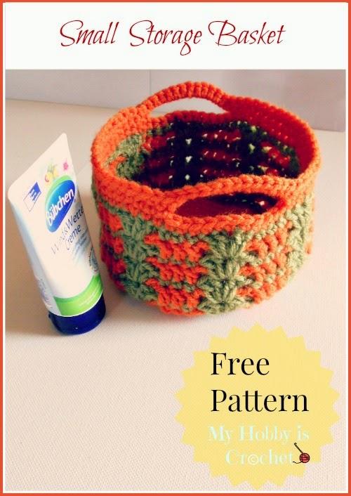 My Hobby Is Crochet Crochet Baskets 2 Free Crochet Patterns