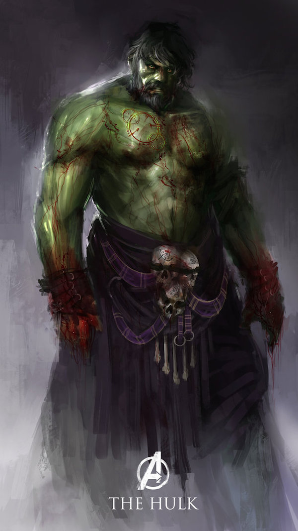 1. Hulk The Bloodied Titan