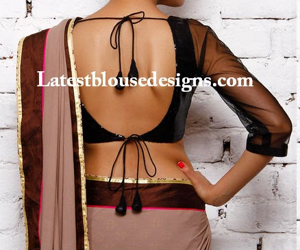 latest backless blouse patterns