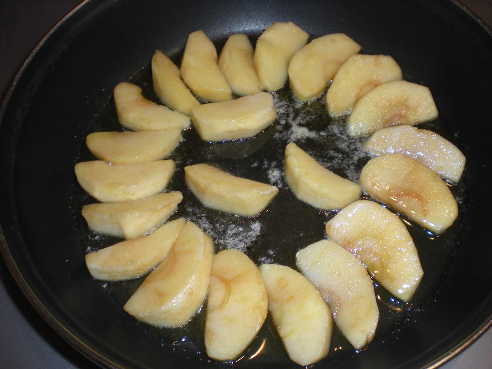 Manzanas con mantequilla