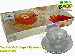 Tea Sets Violin Cups Saucers 12 Pcs