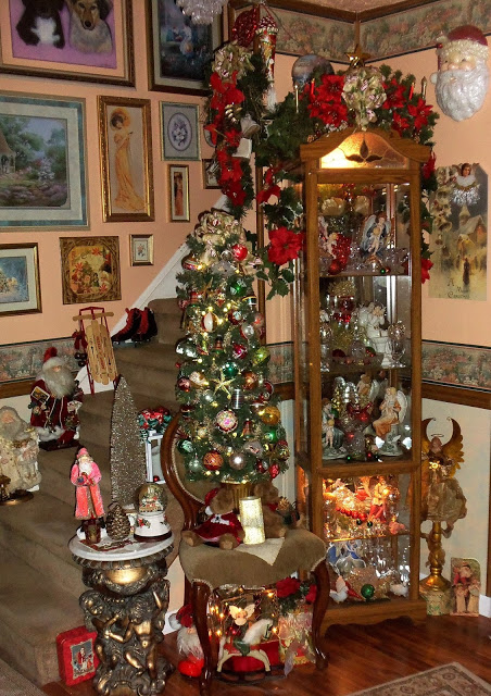 Christmas in the Living Room, Part 2, Christmas Home Tour, 2016